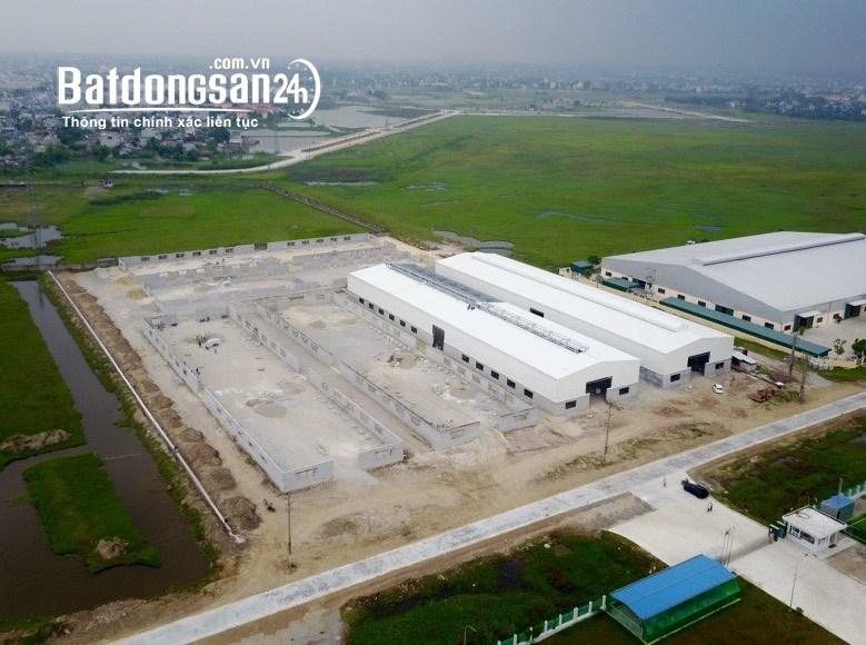 Sang nhượng 3 hecta KCN Phúc Sơn Ninh Bình
