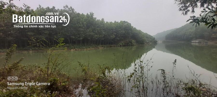 Diện tích 1,1ha bám hồ cực đẹp tại Nam thượng, Kim Bôi, Hoà Bình