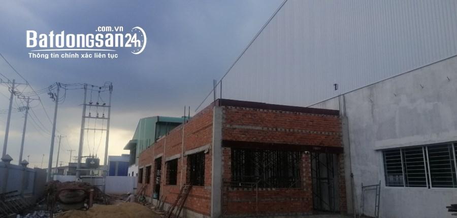 Cần cho thuê nhà xưởng khuôn viên 3000m2 trong KCN Hải Sơn, huyện Đức Hòa,