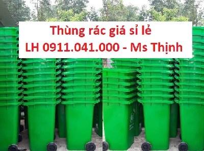 Buôn bán thùng rác 60lit 120lit 240lit gọi 0911.041.000