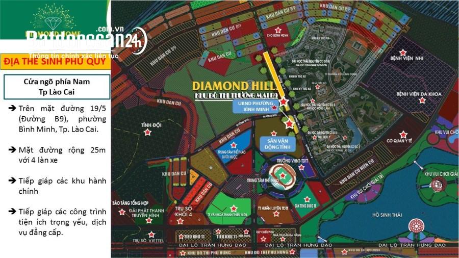 Đất Nền Gần TTTM BIGC DIAMON HILL