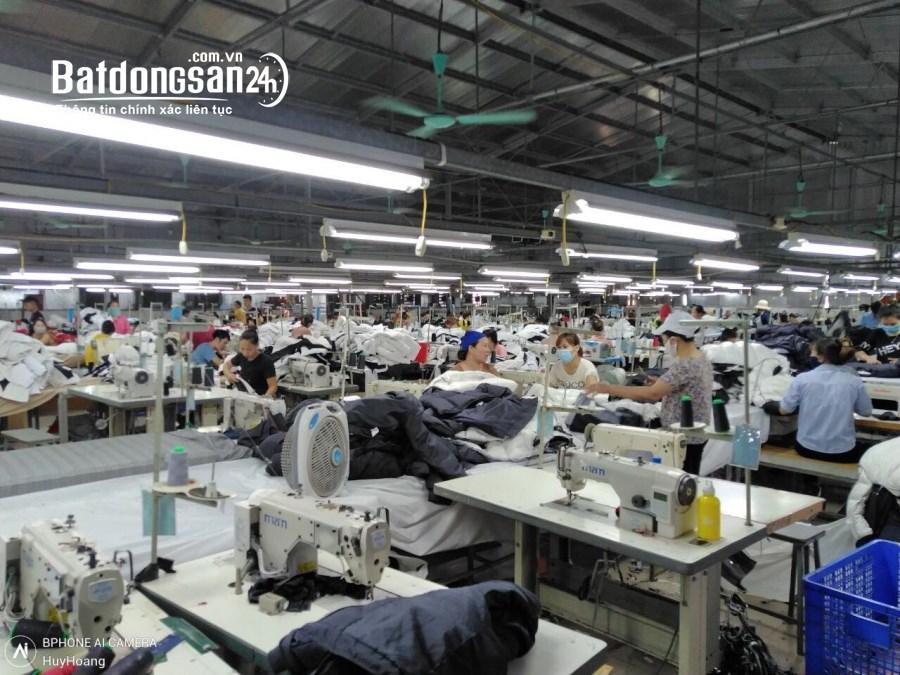 Cho thuê xưởng may 3500m2 Ninh Bình.