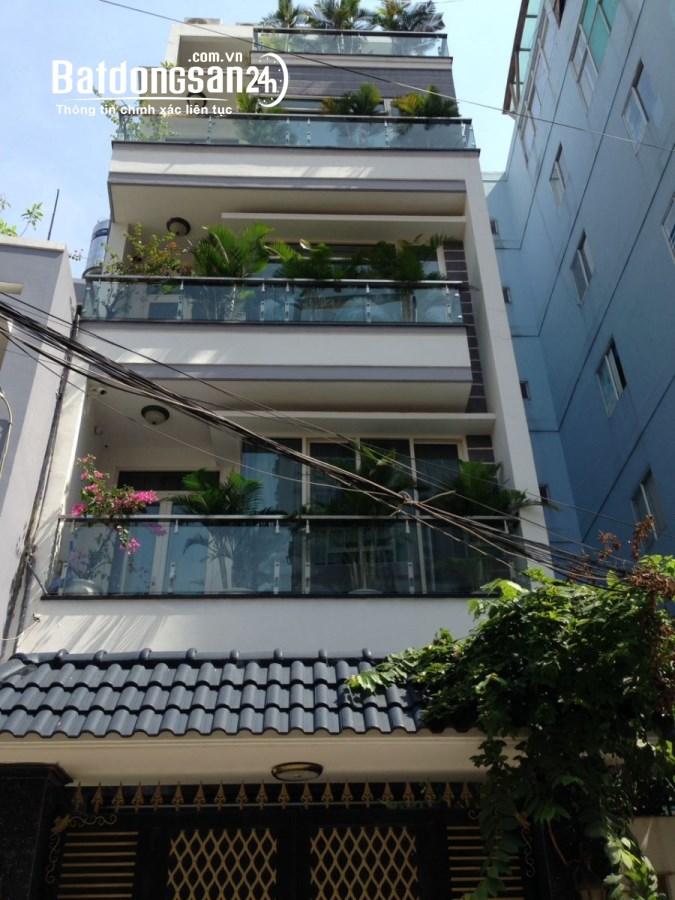 bán nhà mặt tiền Hồ Biểu Chánh P11, Phú Nhuận, 70m2, 4 tầng 12.5 Tỷ