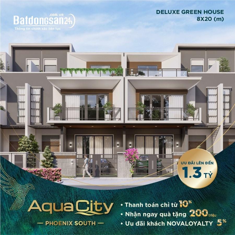 Cơ hội sở hữu biệt thự nhà phố Aqua City Đảo Phượng Hoàng, nhiều ưu đãi