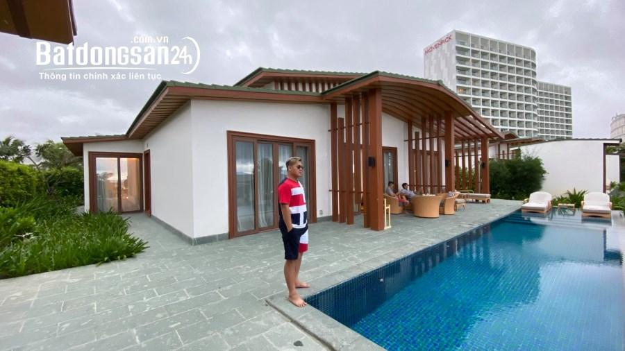 Bán 1 biệt thự Movenpick Cam Ranh + 1 condotel view biển, giá thỏa thuận