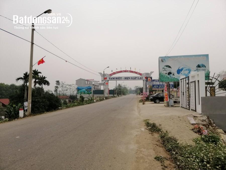 Bán đất Đường 316, Xã Xuân Lộc, Huyện Thanh Thuỷ