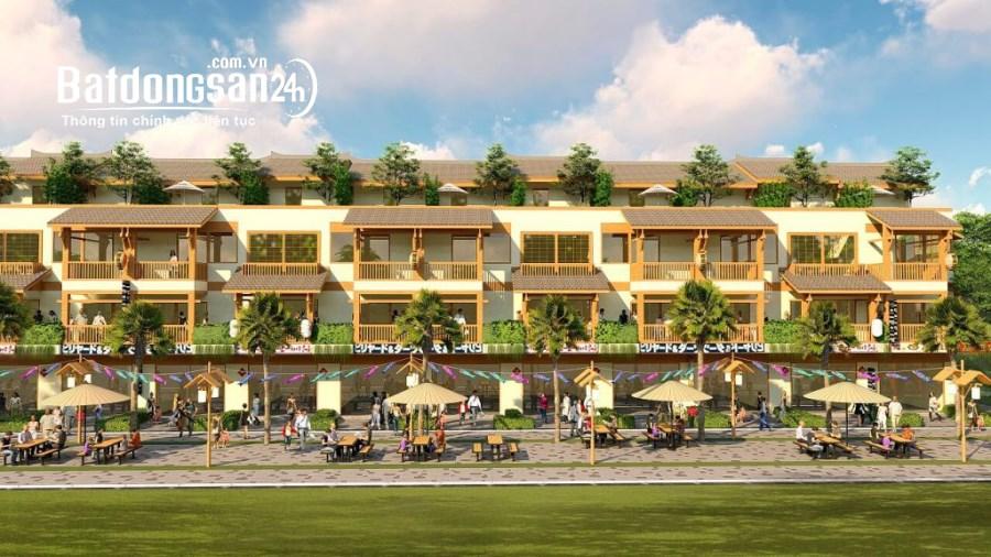Shophouse trong resort khoáng nóng Thanh Thủy Phú Thọ, lợi nhuận cao