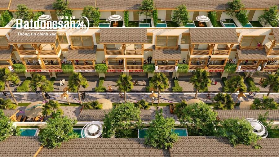 3,8 tỷ đầu tư nhà liền kề 4 tầng trong resort khoáng nóng 5* Wyndham Thanh Thủy