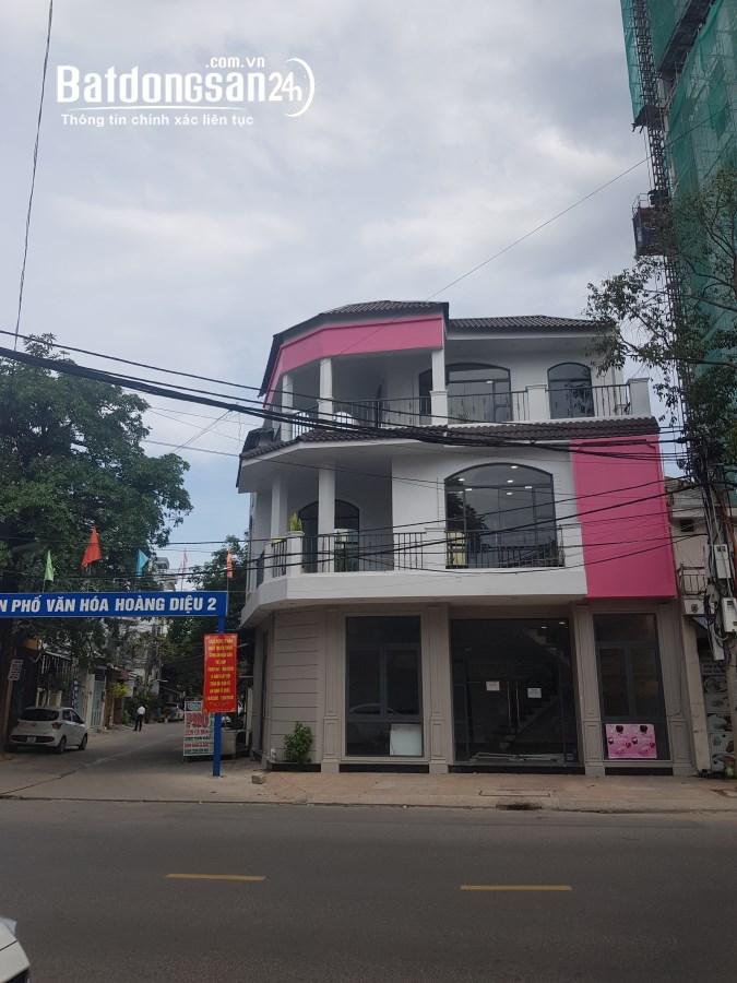 Cho thuê nhà 3 tầng góc Đường Hoàng Diệu, Phường Vĩnh Nguyên, TP Nha Trang