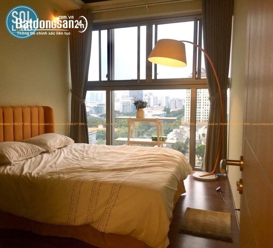 Cho thuê căn hộ ngay công viên Hoa Anh Đào, Giãm sát giá mùa dịch