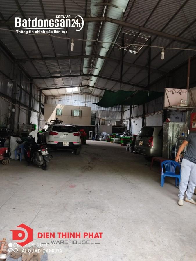 Cho thuê kho xưởng đường số 8 quận Bình Tân 160m giá 15tr