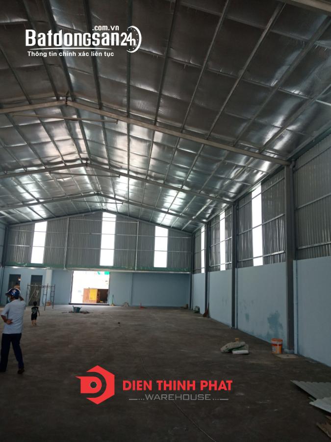 Cho thuê kho xưởng đường Lê Trọng Tấn quận Bình Tân 350m giá 23tr