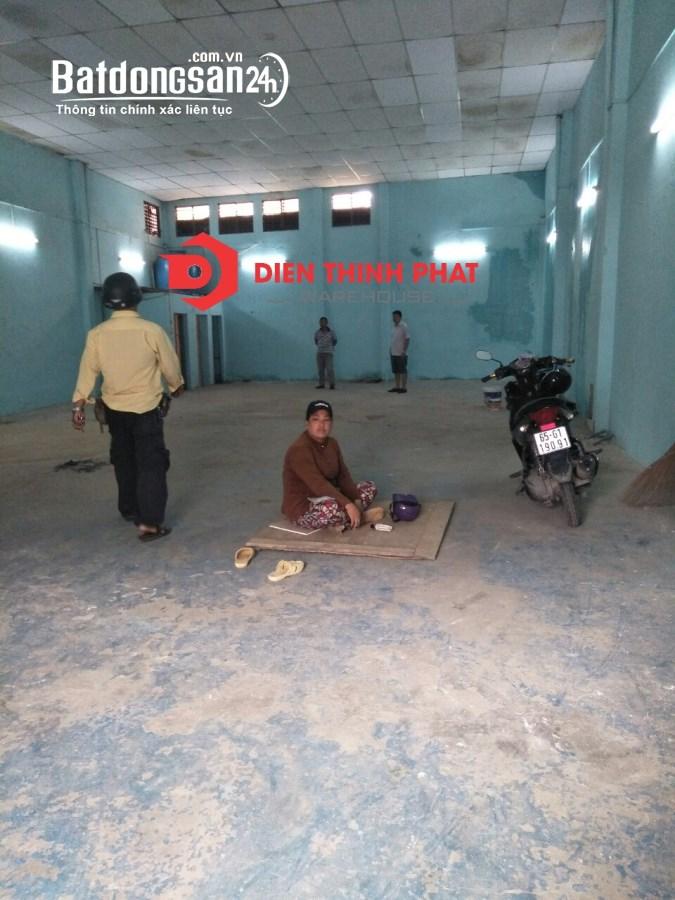 Cho thuê kho xưởng đường Bình thành quận Bình Tân 10x25 giá 19t
