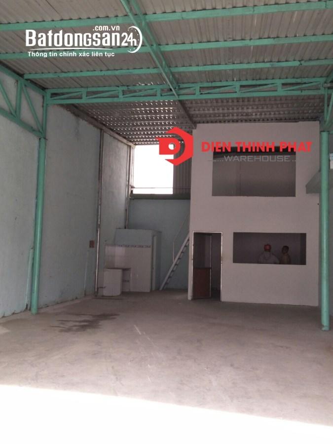 Cho thuê kho xưởng đường Lê Đình Cẩn quận Bình Tân 8x20  giá 13tr