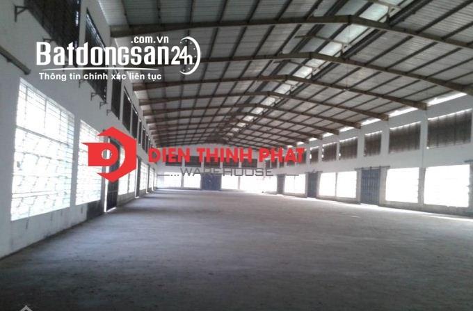 Cho thuê kho xưởng đường Mai Bá Hương _bình chánh 600m2(20x30)giá 33tr