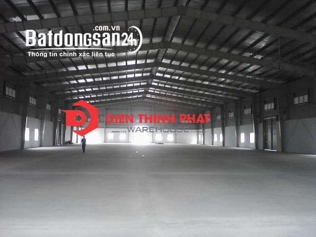 Cho thuê kho xưởng đường Trần Đại Nghĩa bình chánh 800m2 (20x40)giá 48tr