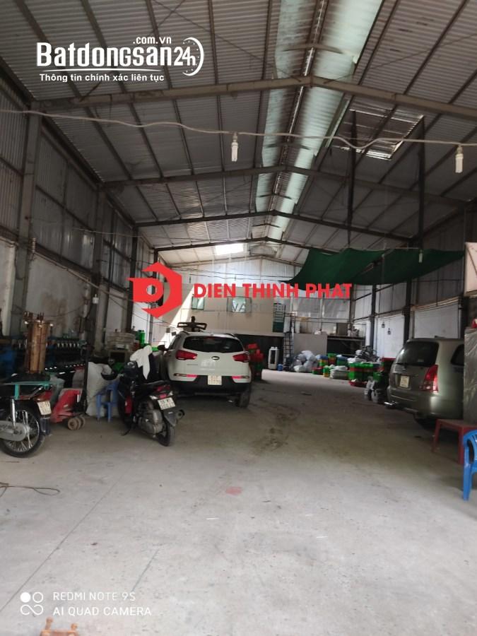 Cho thuê kho xưởng đường Bình trị Đông quận Bình Tân 500m2(10x50)giá 30TR