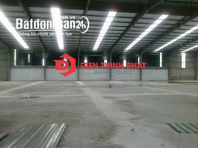 Cho thuê kho xưởng đường Hương Lộ 80 _Bình Chánh(1000m2 _20x50) giá 55trh