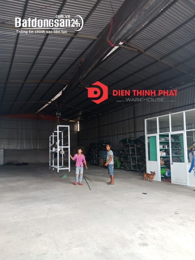 Cho thuê kho xưởng đường Miếu Gò Xoài quận Bình Tân 500m2(10x50) giá 30tr