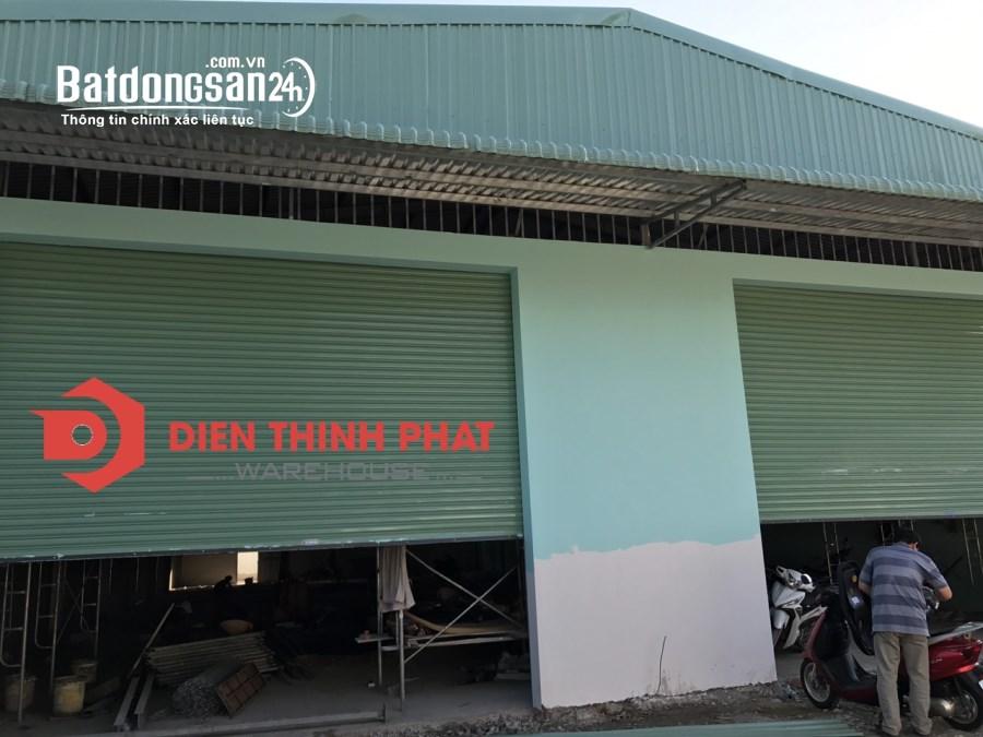 Cho thuê kho xưởng đường số 12 quận Bình Tân 600m2 giá 37tr
