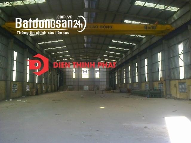 Cho thuê kho xưởng đường Lê Trọng Tấn 800m2 giá 47tr