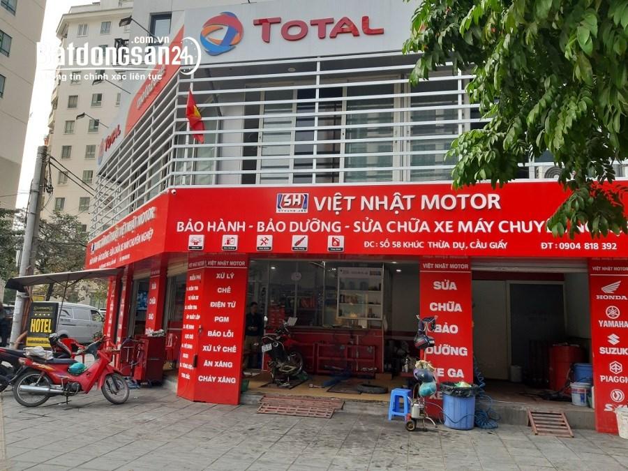 Cho thuê nhà mặt phố Khúc Thừa Dụ, Phường Dịch Vọng, Quận Cầu Giấy