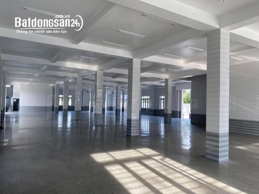 Cần cho thuê kho xưởng mới xây mặt tiền ĐT 835 thuộc huyện Bến Lức