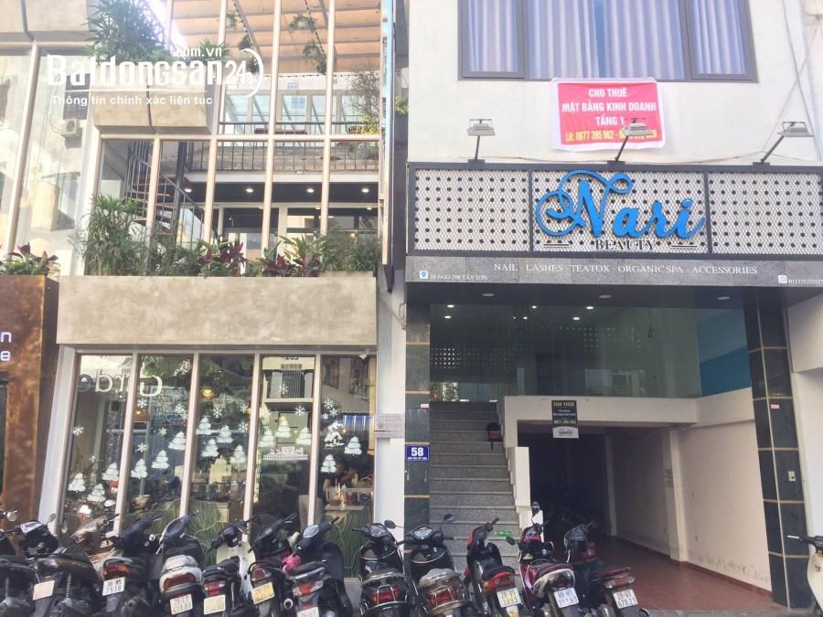 QUẬN ĐỐNG ĐA: Cho thuê văn phòng 80m2 tại 58 Nguyễn Văn Tuyết giá rẻ