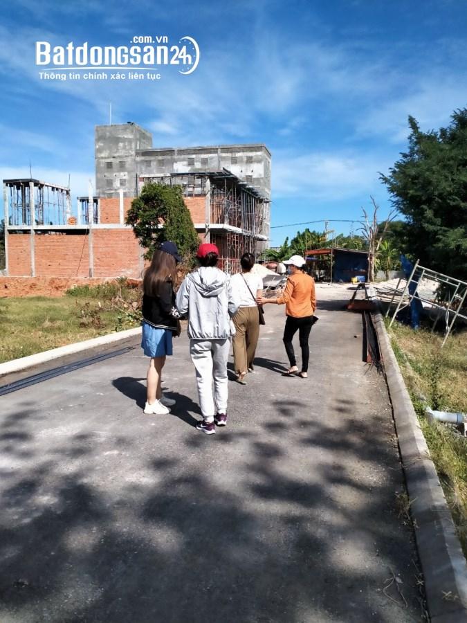 Bán nhà 1 lầu xây mới KDC Hàm Thắng, Phan Thiết