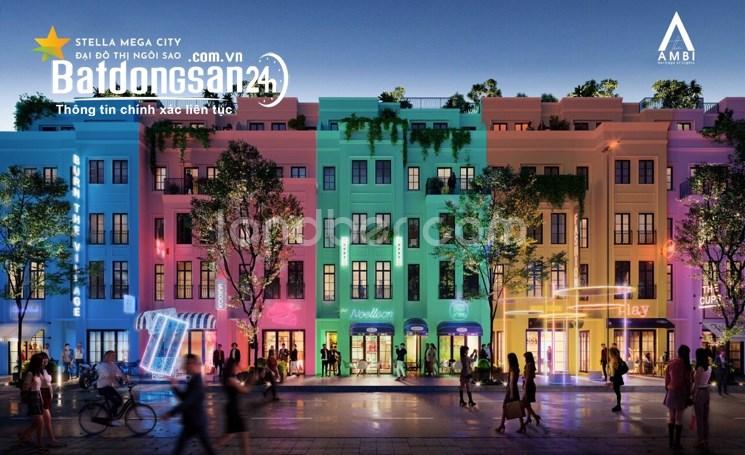 Bán Shophouse The Ambi 1 trệt 3 lầu, khu Stella, thanh toán chỉ 64 triệu/tháng