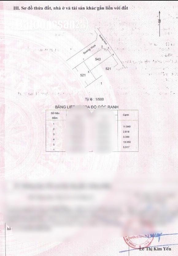 Bán đất lô góc đường 79, P.Phú Hữu, DT 5,6 X 13 giá 4,1 tỷ TL