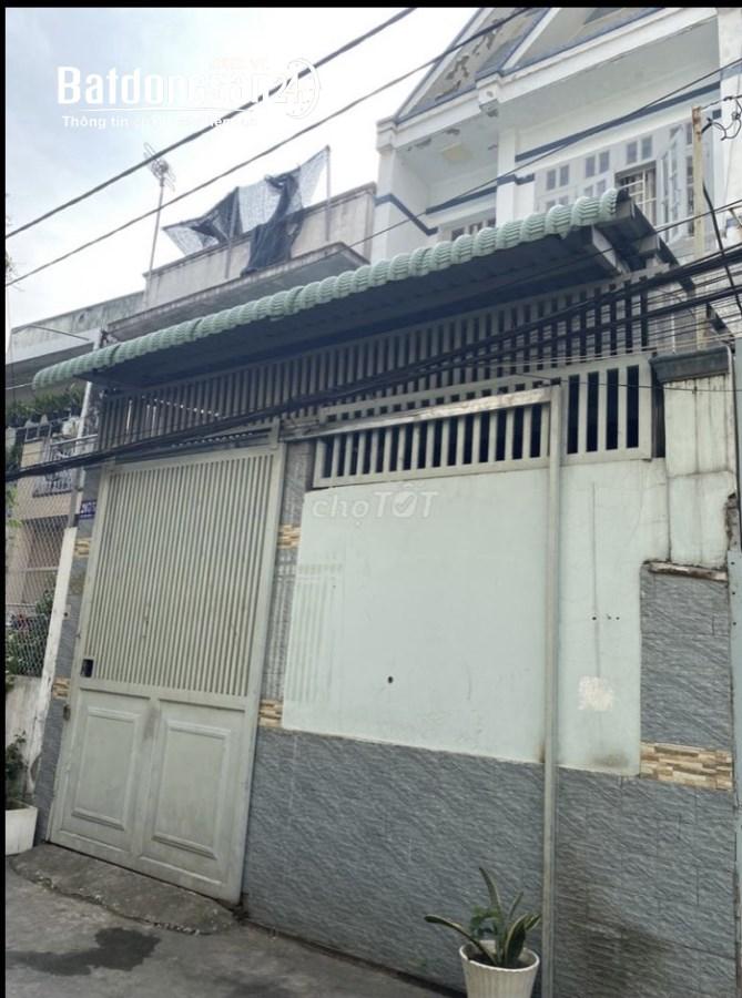 Cho thuê nhà NC 4x20 1 trệt 1 lầu tạo 207/51 Kinh Dương Vương P12 Q6 giá 11tr/th
