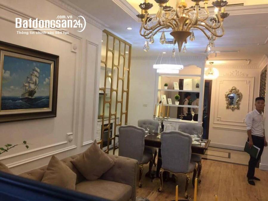 Cho thuê Chung cư DT 81M2, 2 PN chỉ 17Tr 1 tháng nhà đẹp, ful nội thất