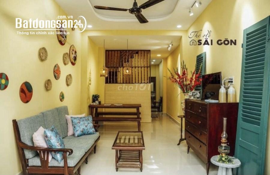 Cho thuê nhà NC 1 trệt 1 lầu có nội thất tại Vạn Kiếp P3 Q BThạnh giá 12tr/th