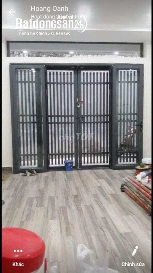 Cho thuê nhà NC Full nội thất 4x10 1 trệt 1 lầu tại Trần Đình Xu P Cầu Kho Q1