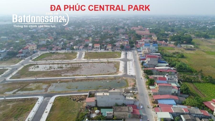 Bán lô đất 100m2 ví trí đẹp tại dự án Đa Phúc Central Park,Dương Kinh