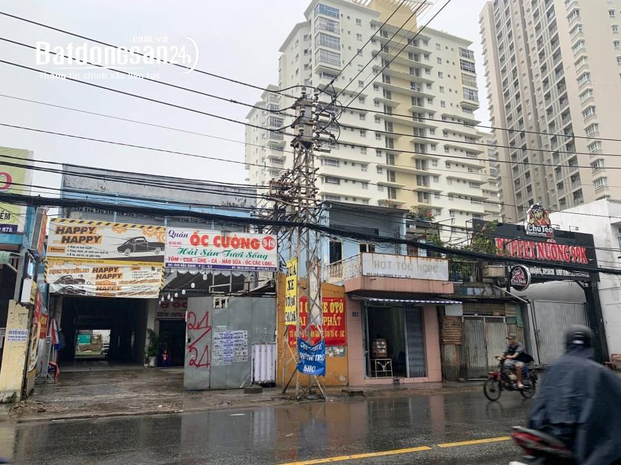 Cho thuê mặt bằng kinh doanh 2500M2 Đường Hậu Giang, Phường 11, Quận 6