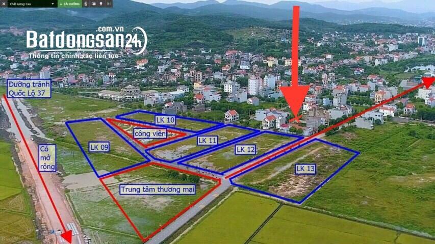 Bán lô đất GĐ1 sổ đỏ sẵn có dự án Hồ Mật Sơn, Chí Linh. Giá tốt nhất thị trường