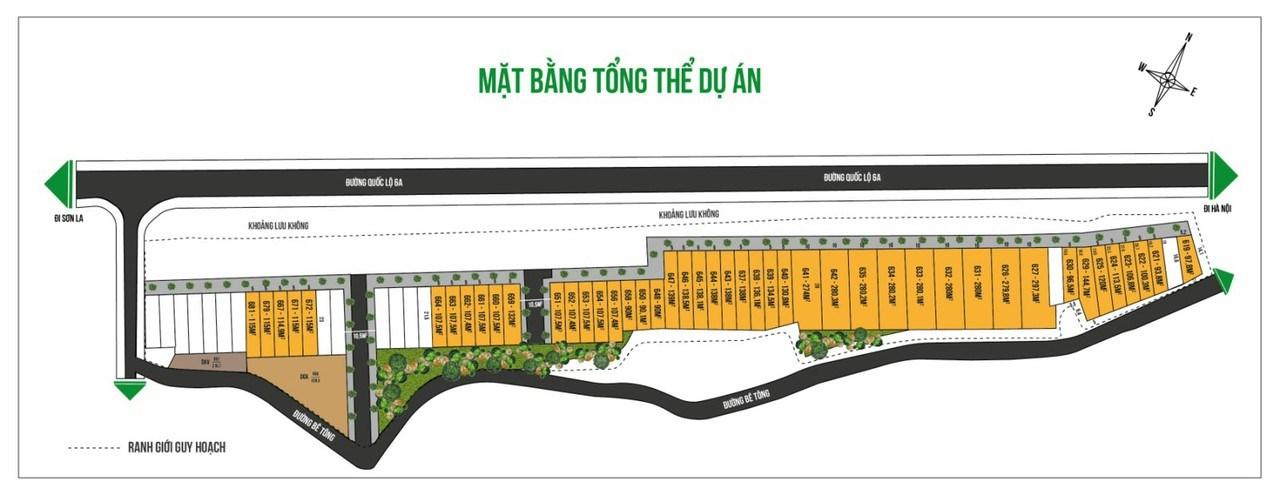Bán đất nền phân lô Đường Quốc lộ 6, Huyện Kỳ Sơn, Hòa Bình
