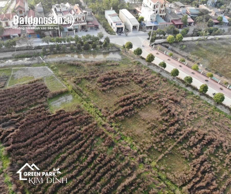 Bán đất nền sổ đỏ Xã Kim Đính, Huyện Kim Thành, Hải Dương giá từ 13trđ/m2