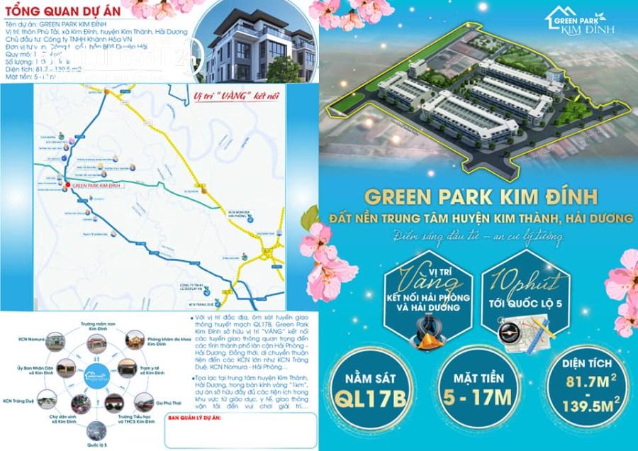 Bán đất nền dự án  phân lô Đường 188, Xã Kim Đính, Huyện Kim Thành
