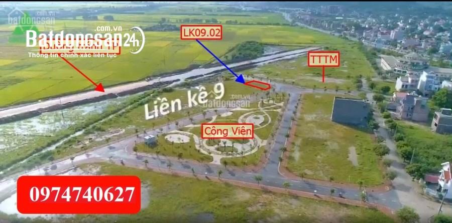 Bán Lô Góc view Công viên, TTTM, đường chánh QL37 dự án Hồ Mật Sơn, Chí Linh