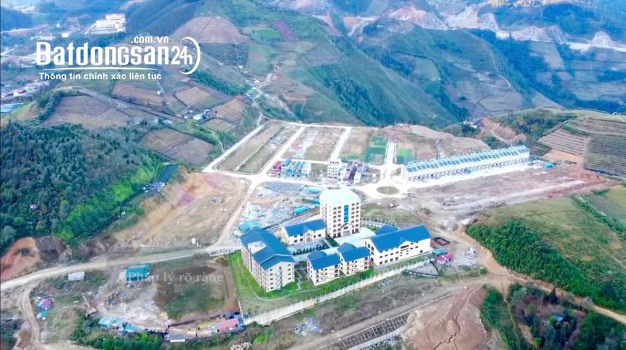 Bán đất nền phân lô dự án sapa garden hills trung tâm thị xã