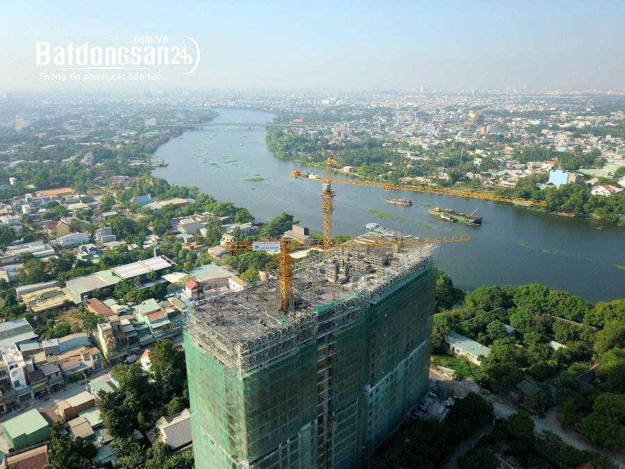 căn 1pn view sông giá 980triệu, trả trước 300tr sở hữu, nhận nhà tháng 8/2021