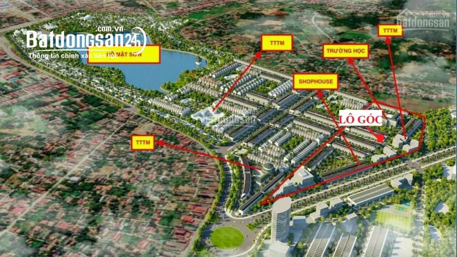 Lô Góc đẹp nhất dự án Hồ Mật Sơn - đầu tư chắc thắng. Giá ngoại giao. LH ngay