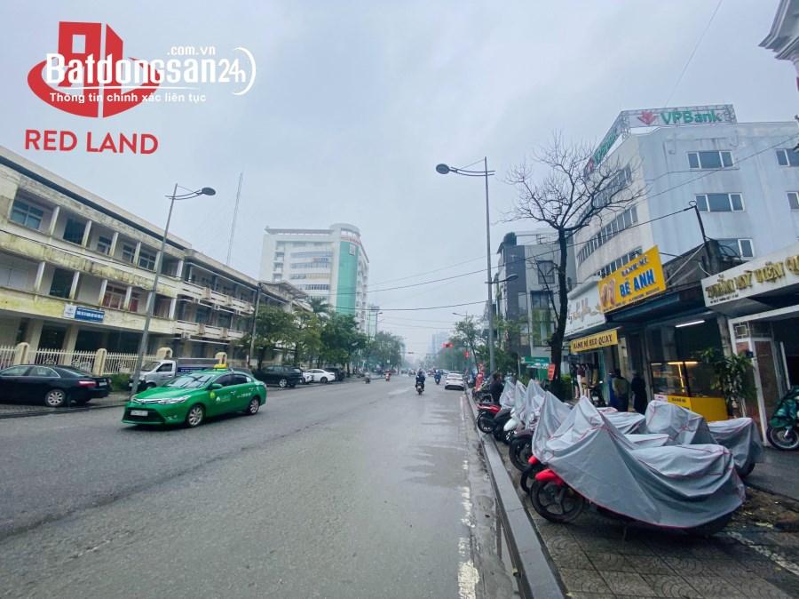 Bán lô đất MẶT TIỀN kinh doanh 222m2 Lý Thường Kiệt, ngay trung tâm TP Huế