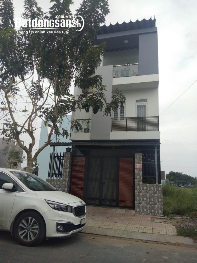 Nhà phố 2 lầu SHR từng căn, giá 1,7 tỷ nhận nhà gần chợ Bình chánh1km