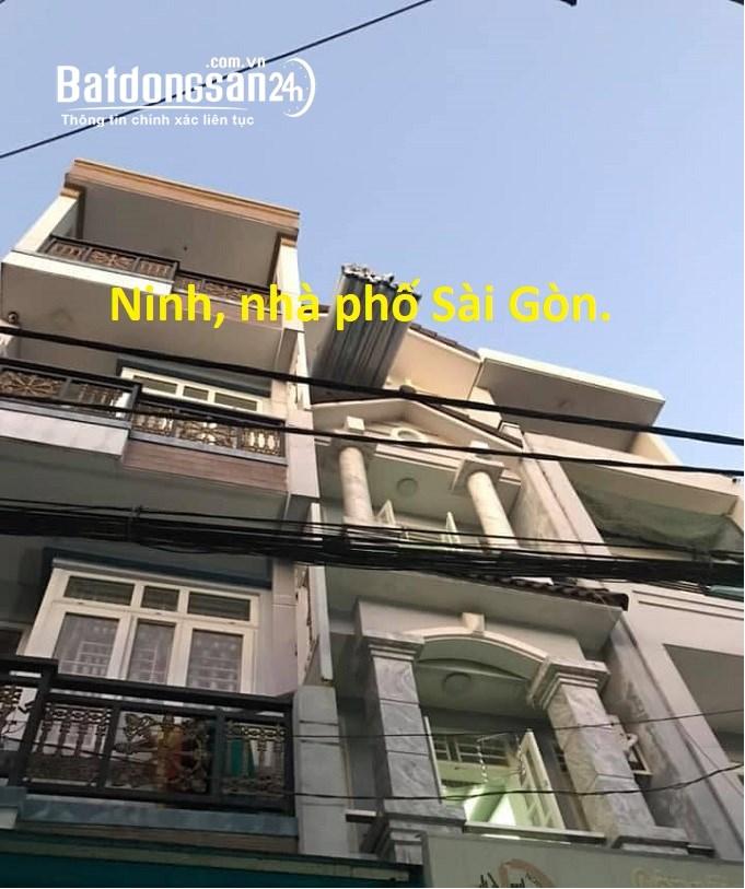 Nhà HXH Cống Lở, P15, Tân Bình, 49m2, 4 tầng, 4,95 tỷ.