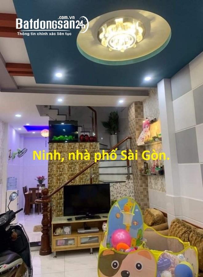 Nhà HXH Lý Thường Kiệt, P8, Tân Bình, 44m2, 4 tầng.