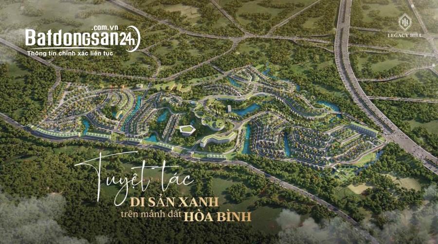 Biệt thự Đồi Legacy Hill - Lương Sơn, Hòa Bình. Duy nhất 1 lô giá 4,x tỷ.